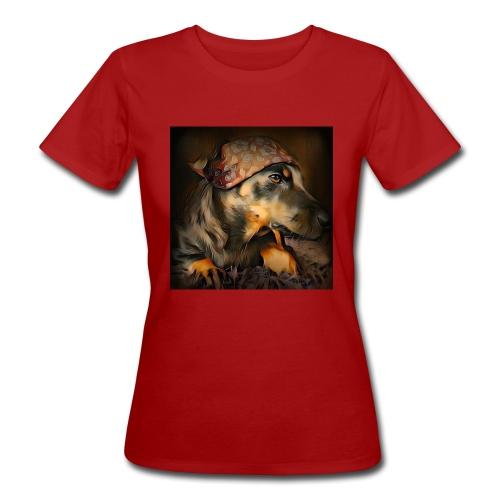 Biker Pinia - Frauen Bio-T-Shirt