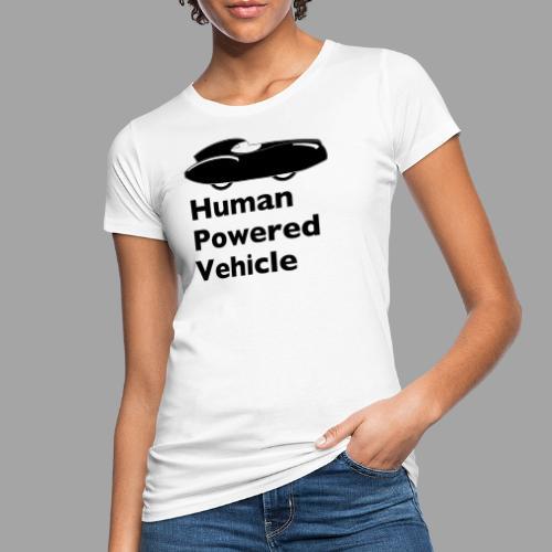 Quattrovelo Human Powered Vehicle black - Naisten luonnonmukainen t-paita