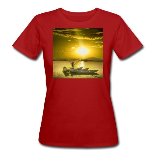 Tramonto - T-shirt ecologica da donna