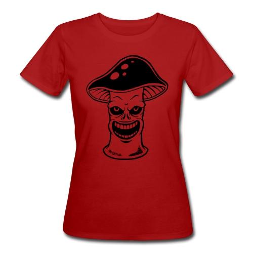 Happy Pilz - Frauen Bio-T-Shirt