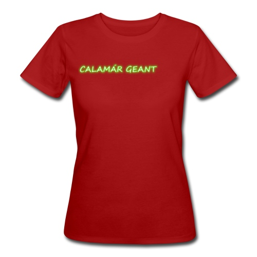 Big Squid - T-shirt bio Femme