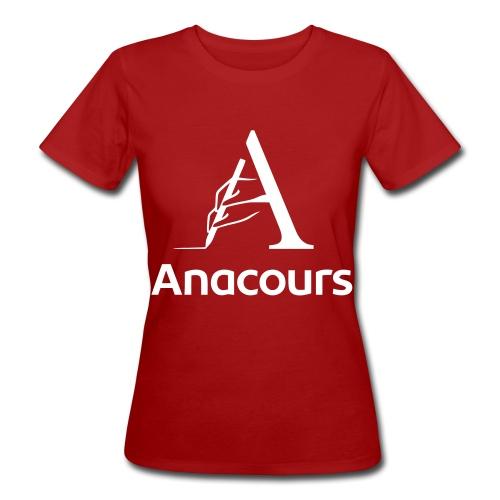 anacoursHQblank_BLK - T-shirt bio Femme