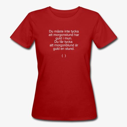 Morgonblund - Ekologisk T-shirt dam