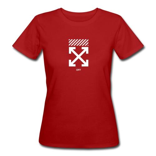 offwhite merch - Naisten luonnonmukainen t-paita