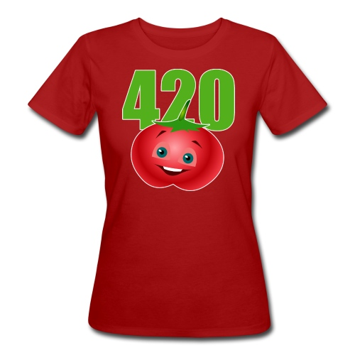 Tomate 420 - Frauen Bio-T-Shirt