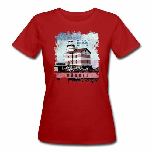 Märket majakkatuotteet, Finland Lighthouse, väri - Naisten luonnonmukainen t-paita
