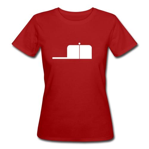 SigWood weiß - Frauen Bio-T-Shirt