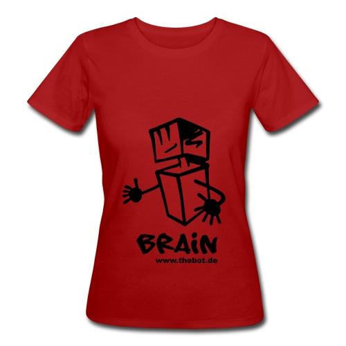 brain_logo_tshirt - Frauen Bio-T-Shirt