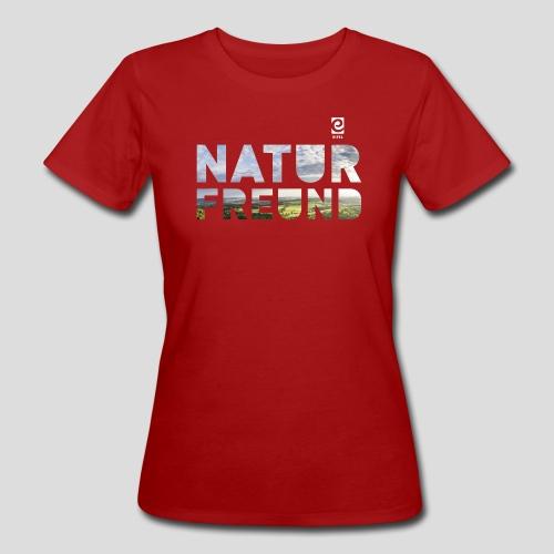 Naturfreund - weiß - Frauen Bio-T-Shirt