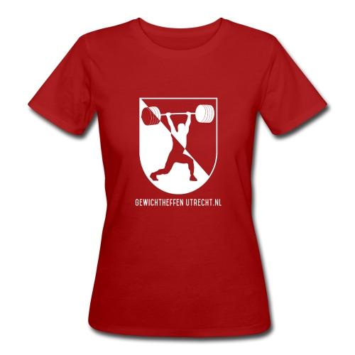 Gewichtheffen Utrecht Logo Shirt - Vrouwen Bio-T-shirt