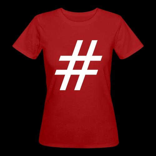 Hashtag Team - Frauen Bio-T-Shirt