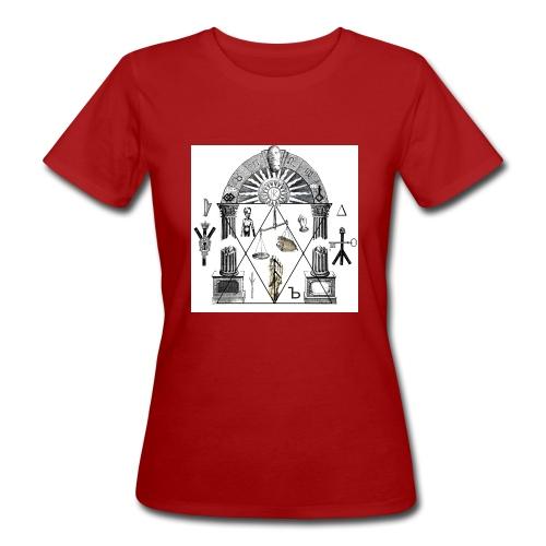 A foot Littler - Ekologisk T-shirt dam