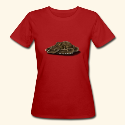 Oktopus - Frauen Bio-T-Shirt