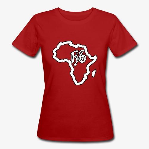 afrika pictogram - Vrouwen Bio-T-shirt