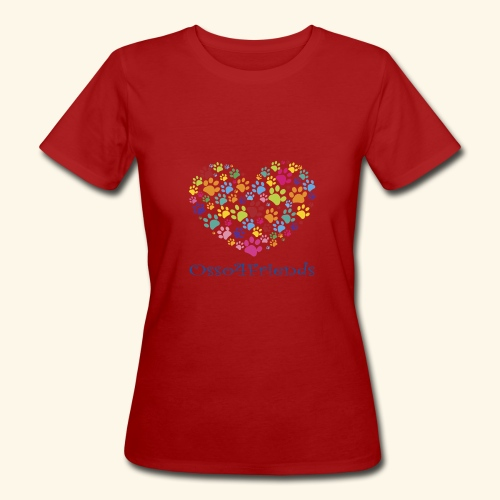 CUOREZAMPE - T-shirt ecologica da donna