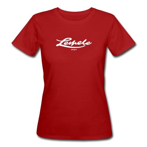 Batzer Lemele script - Vrouwen Bio-T-shirt