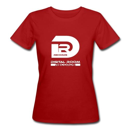 Digital Room Records Official Logo white - Women's Organic T-Shirt