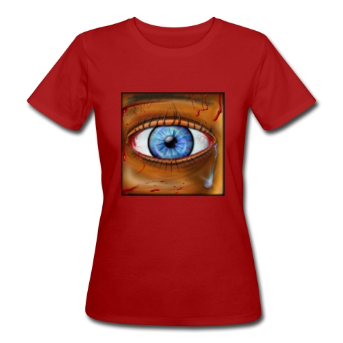 Hyperspace Potato Eye - Women's Organic T-Shirt