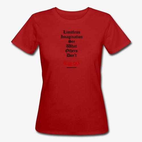 Limitless Imagination Zwart - Vrouwen Bio-T-shirt