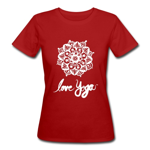 Love Yoga. Simply love it. - Økologisk T-skjorte for kvinner