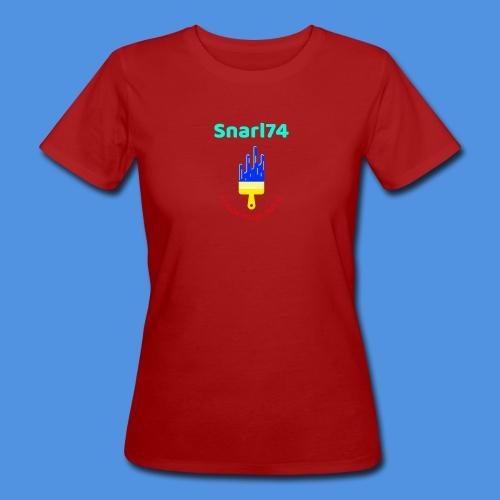 Paint - T-shirt ecologica da donna