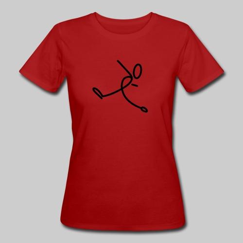 Strichmännchen - Frauen Bio-T-Shirt