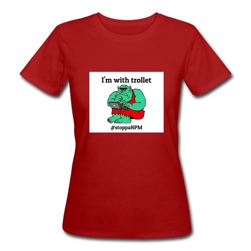 skolinkvisitionen - Ekologisk T-shirt dam