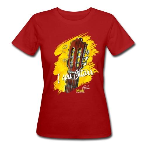 I spü Gitarr - limited edition '19 - Frauen Bio-T-Shirt
