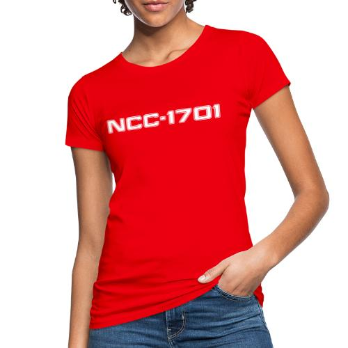 NCC-1701 White - Women's Organic T-Shirt