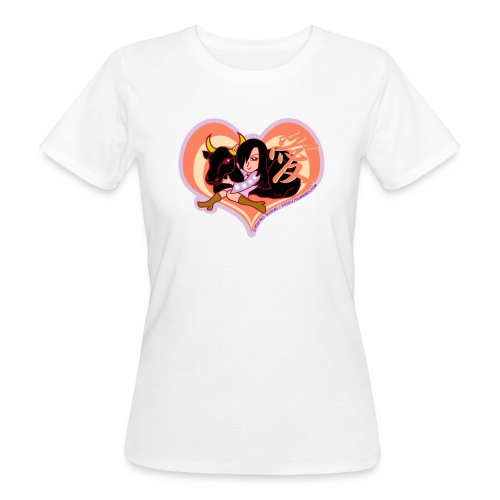 Girl and Ox (Love) - Women's Organic T-Shirt