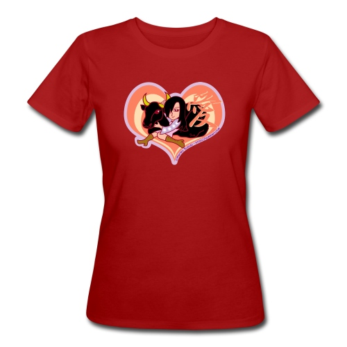 Girl and Ox (Love) - Women's Organic T-Shirt