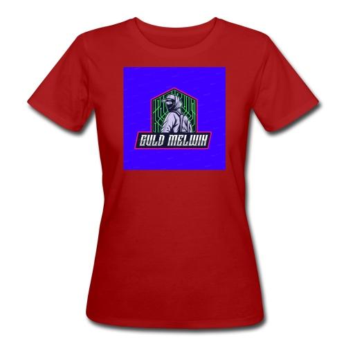 Guld Melwin - Ekologisk T-shirt dam