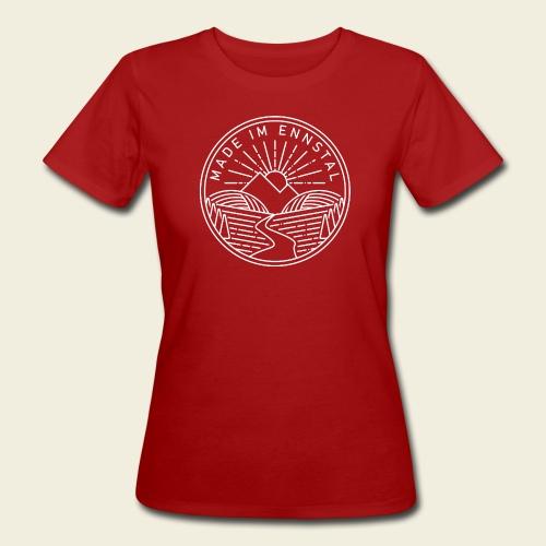 Made im Ennstal, weiß - Frauen Bio-T-Shirt