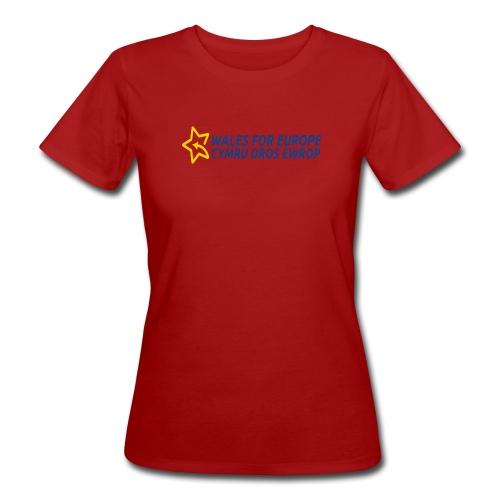 Peoples Vote Remain in EU - Naisten luonnonmukainen t-paita