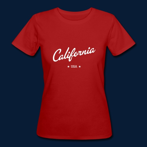 California - Frauen Bio-T-Shirt