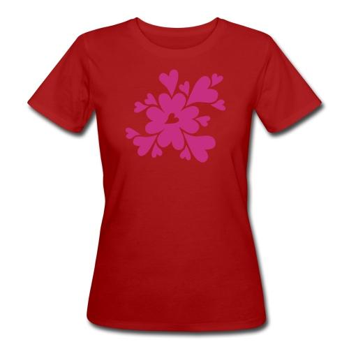 HJÄRTAN - Ekologisk T-shirt dam