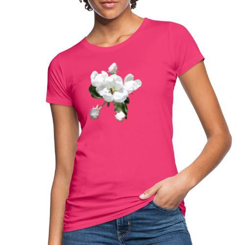 Omenankukka ja kukkakärpänen - Naisten luonnonmukainen t-paita