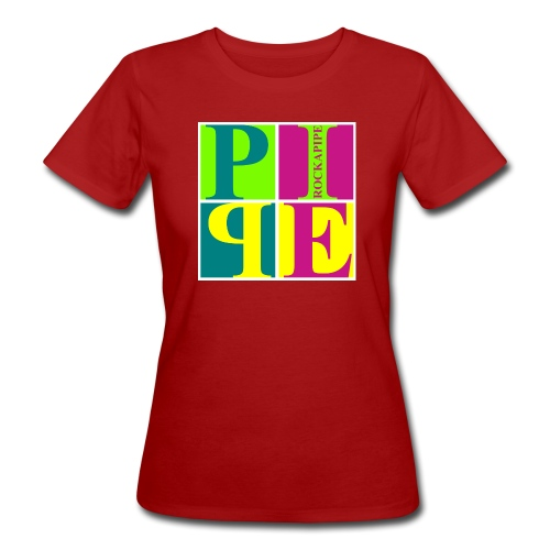 PipeArt - neon - Frauen Bio-T-Shirt