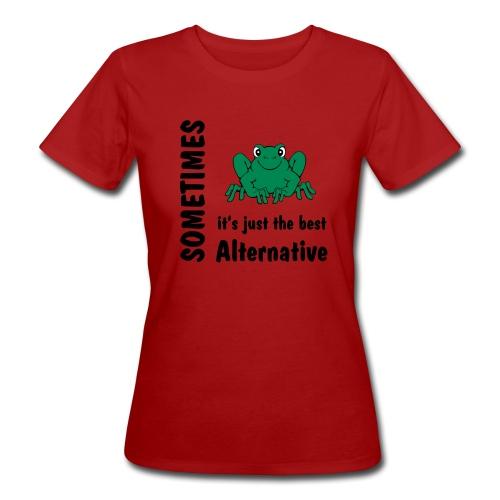 Frosch - Frauen Bio-T-Shirt
