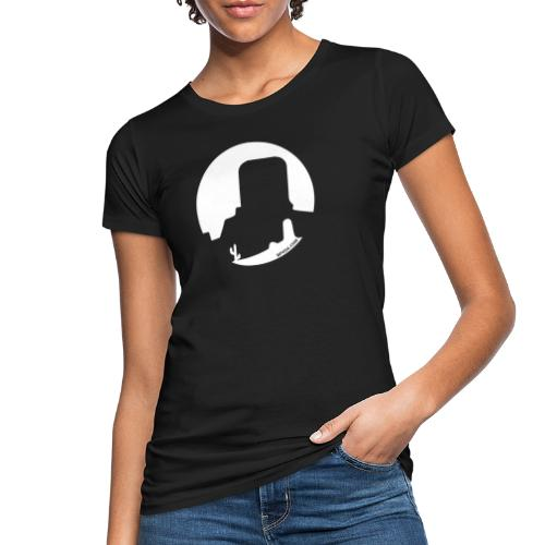 Logo French Wester blanc - T-shirt bio Femme
