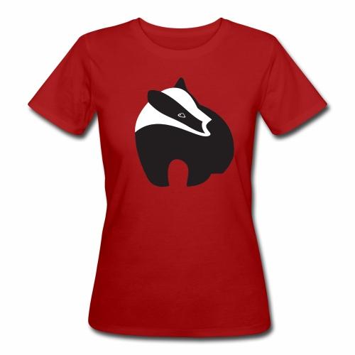 logo D B alleen das gif transparant gif - Vrouwen Bio-T-shirt