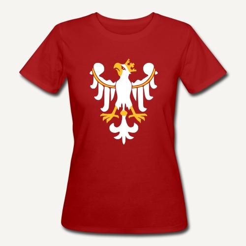 Orzeł Piastowski - Ekologiczna koszulka damska