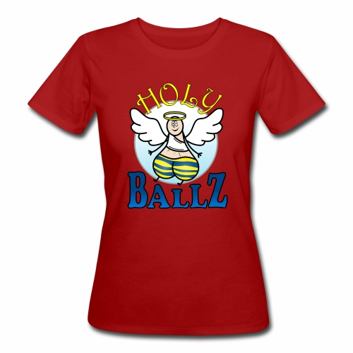 Holy Ballz Charlie - Women's Organic T-Shirt