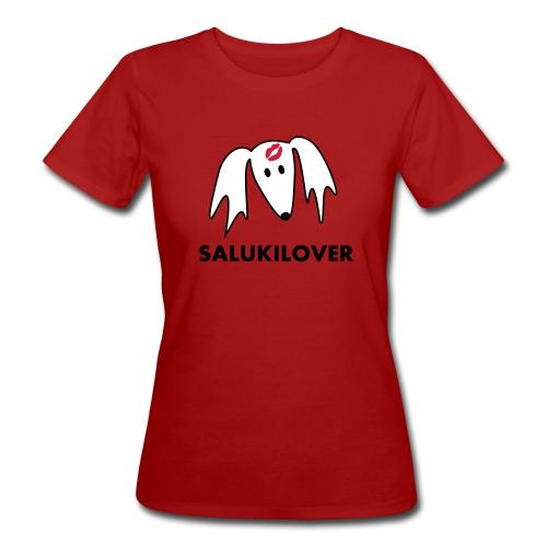 Salukilover - Frauen Bio-T-Shirt