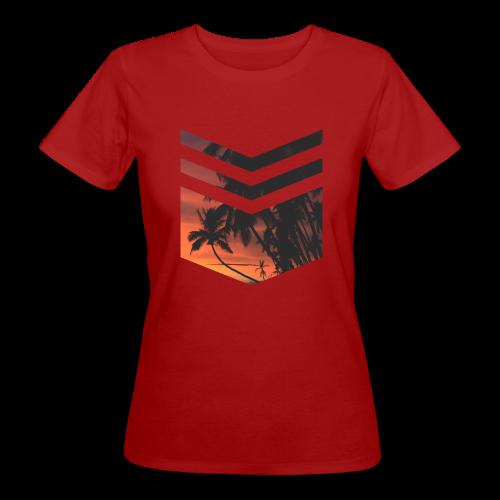Palm Beach - Frauen Bio-T-Shirt