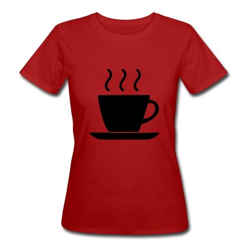 coffee - T-shirt ecologica da donna