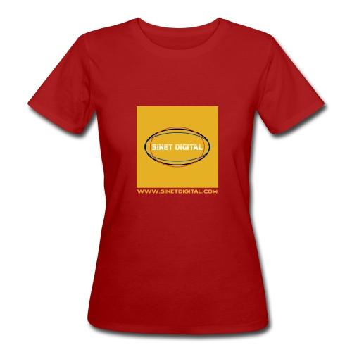 SINET DIGITAL - T-shirt bio Femme