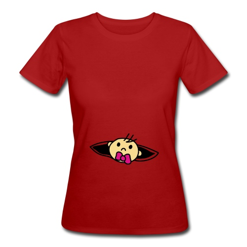 Baby Loading Ich bin Schwanger Design - Frauen Bio-T-Shirt