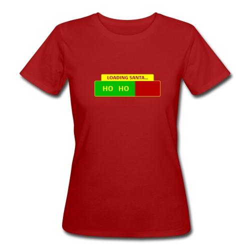 Loading Santa - Naisten luonnonmukainen t-paita