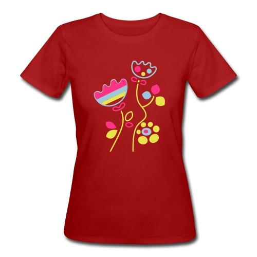 tulipani - T-shirt ecologica da donna